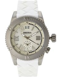 Brera Orologi | Brsr14001 Silver-Tone & White Watch | Lyst