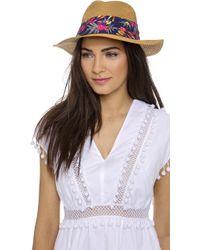 Eugenia Kim Genie Billie Hat - Camel - Lyst