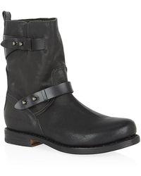 Rag & Bone Moto Leather Boot - Lyst
