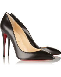 Christian Louboutin Pigalle Follies 100 Leather Pumps - Lyst