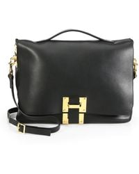 Sophie Hulme Soft Flap Shoulder Bag - Lyst