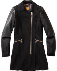 BOSS Orange - Fabric Blend Coat 'Oxeni' - Lyst