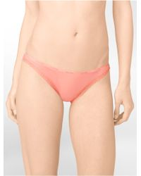 Calvin Klein Bottoms Up Bikini - Lyst