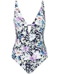 Reiss - Floral Harlot Swimsuit - Lyst
