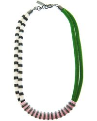 Missoni Mare G Chevron Necklace - Lyst
