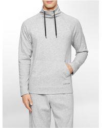 Calvin Klein Underwear Lounge Pullover Sweatshirt gray - Lyst