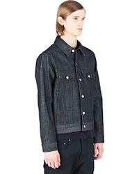 Maxwell Snow - Men's Denim Jacket In Dark Grey - Lyst