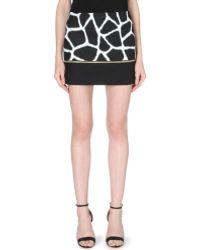 MICHAEL Michael Kors Giraffe-Print Zip-Detail Skirt - For Women - Lyst