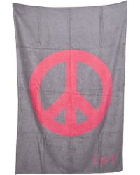 Lucien Pellat Finet - Peace Beach Towel - Lyst