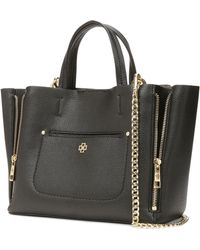 Ann Taylor Mini Pebbled Signature Tote - Lyst