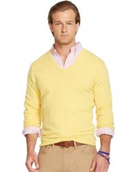 Polo Ralph Lauren Cashmere V-Neck Sweater - Lyst