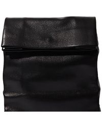 Adaism - Women's Saco De Papel Medium Bag In Black Goatskin - Lyst