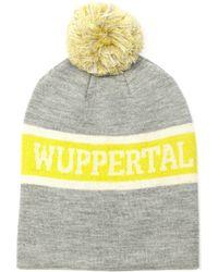 Étoile Isabel Marant - Zeph Wuppertal-Intarsia Wool Beanie Hat - Lyst