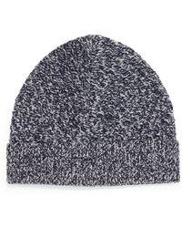 Theory - Cannan Wool Beanie Hat - Lyst