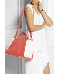 Maiyet - Peyton Leather and Cottoncanvas Tote - Lyst