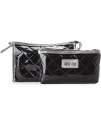 Kenneth Cole Reaction | 2-Piece Cosmetic Bag Set | Lyst