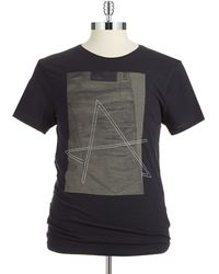 G-star Raw A Graphic T Shirt - Lyst