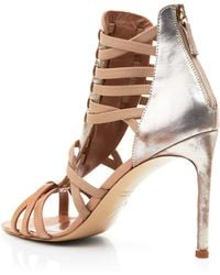 Delman - Strappy Sandals - Jacey High Heel - Lyst