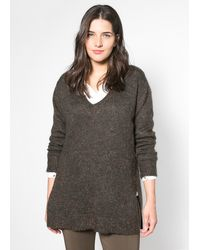 Violeta by Mango Mohair Wool-Blend Sweater - Lyst