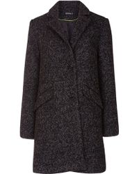 Sugarhill - Layla Textured Coat - Lyst