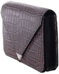 Alexander Wang Oyster Prisma Envelope Bag - Lyst