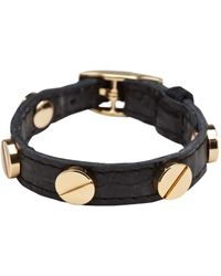CC Skye The Signature Screw Bracelet in Gold - Lyst