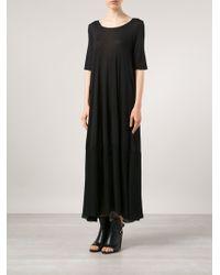 Raquel Allegra Ankle Length Shift Dress - Lyst