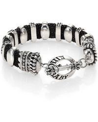 King Baby Studio Stingray Sterling Silver Bracelet - Lyst