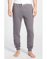 Bread & Boxers - Cotton Blend Lounge Pants - Lyst