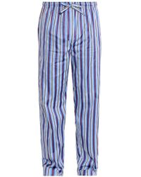 Derek Rose Mayfair Striped Pyjama Bottoms - Lyst