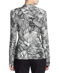 ESCADA - Floral-print Jacket - Lyst