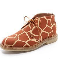 Mark Mcnairy New Amsterdam Brown Chukka Boots - Lyst