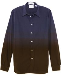 Paul Smith Standard Fit Color Block Shirt - Lyst