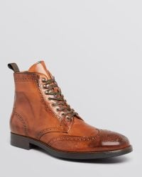 To Boot - Brennan Wingtip Boots - Lyst