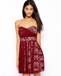 TFNC Lace Prom Dress - Lyst