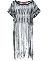 Missoni Tasseled Knitted Taftan - Lyst