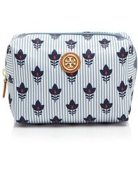 Tory Burch Cosmetic Case - Printed Nylon Brigitte - Lyst
