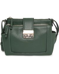Mango Double Compartment Bag - Lyst