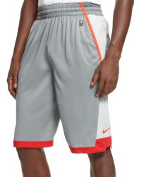 Nike Lebron Colorblocked Performance Shorts - Lyst