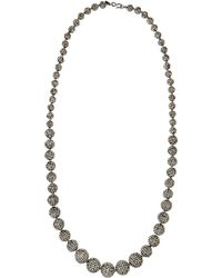 Kenneth Jay Lane Gradient Fireball Long Necklace - Lyst