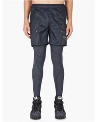 Nike X Undercover Gyakusou Mens Navy Embossed Woven Running Shorts - Lyst