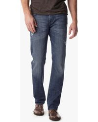 7 For All Mankind Vintage 7 Collection: Carsen Easy Straight With Clean Pocket - Lyst