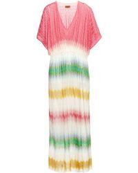 Missoni Mare Crochet-Knit Maxi Dress - Lyst