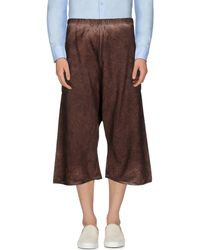 Marvielab - 3/4-length Trousers - Lyst
