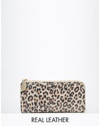 Ri2k - Leather Leopard Purse - Lyst
