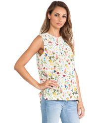 Equipment Kyle Sleeveless Blouse - Lyst