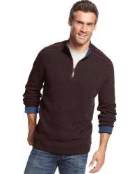 Tommy Bahama New Flip Side Pro Halfzip Sweater - Lyst