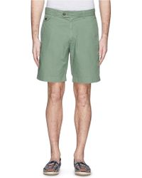 Alex Mill Cotton Ripstop Cabin Shorts - Lyst