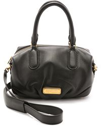 Marc By Marc Jacobs New Q Small Legend Satchel - Black black - Lyst