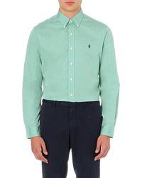 Ralph Lauren Customfit Buttondown Shirt - Lyst
